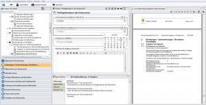 Datenschutz-Projekt mit Erläuterungen und Berichtslayout