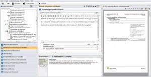 Datenschutz-Projekt mit Mustertext und aktuellem Berichtsbestandteil