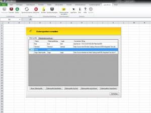 Speed4cell-Datenquellen verwalten