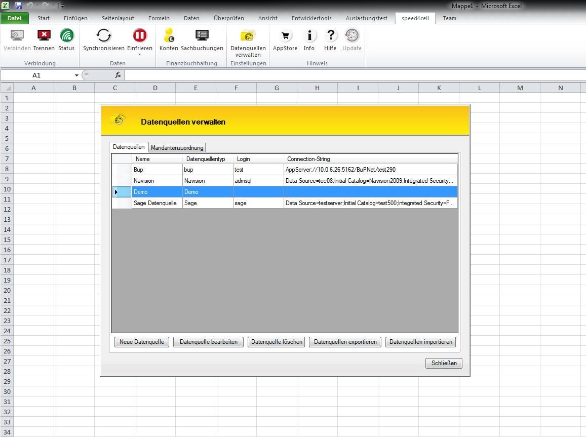 Automatische Kompatibilität mit der Controlling-Software speed4cell