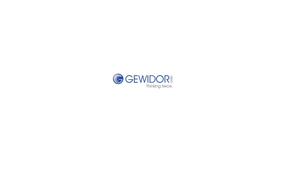 Gewidor-Logo