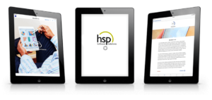Drei Tablets mit XBRL