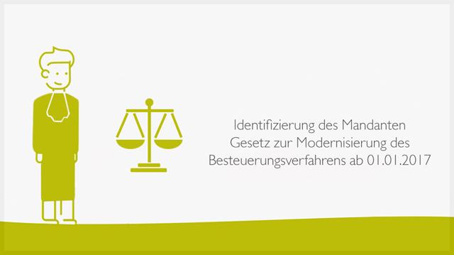 Identifizierung des Mandanten Gesetz