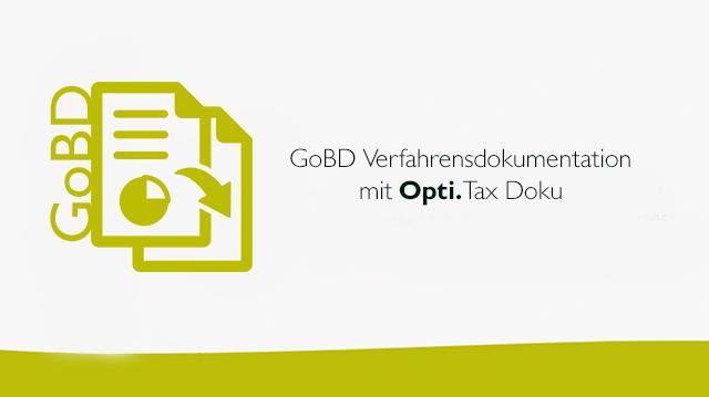 GoBD Verfahrensdokumentation mit Opti.Tax Doku