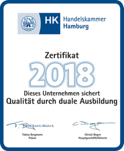 HK Zertifikat duales Studium