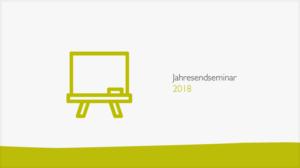 Jahresendseminar 2018 Banner
