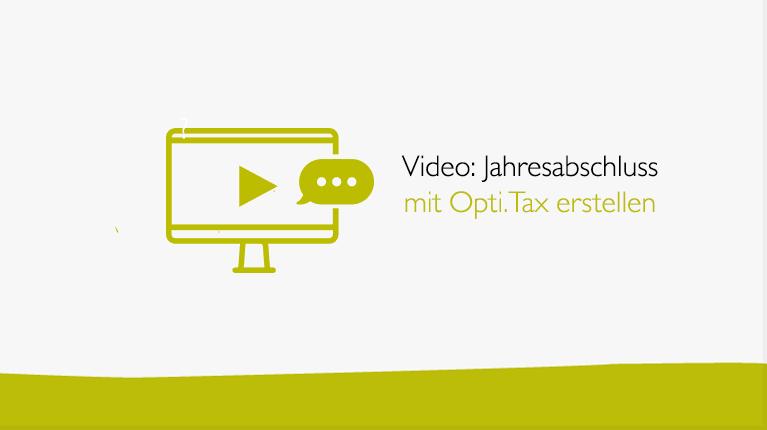 Jahresabschluss mit Opti.Tax erstellen jahresabschluss mit optitax doku