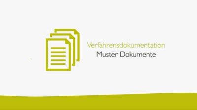 Verfahrensdokumentation Muster