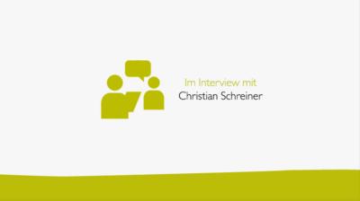 Im Interview mit Christian Schreiner