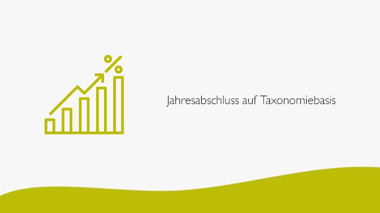 Jahresabschluss auf Taxonomiebasis