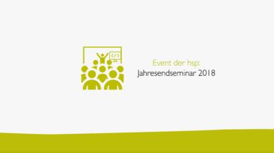 Jahresendseminar 2018 in Kassel