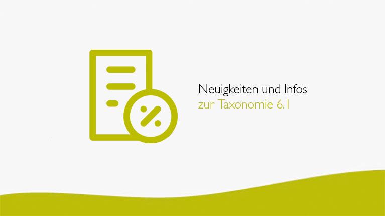 Neuigkeiten und Infos zur Taxonomie 6.1