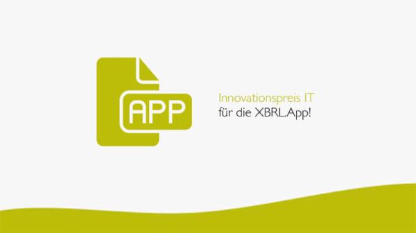 Innovationspreis IT für die XBRL.App