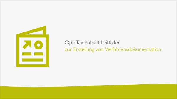 Opti.Tax Kassendaten