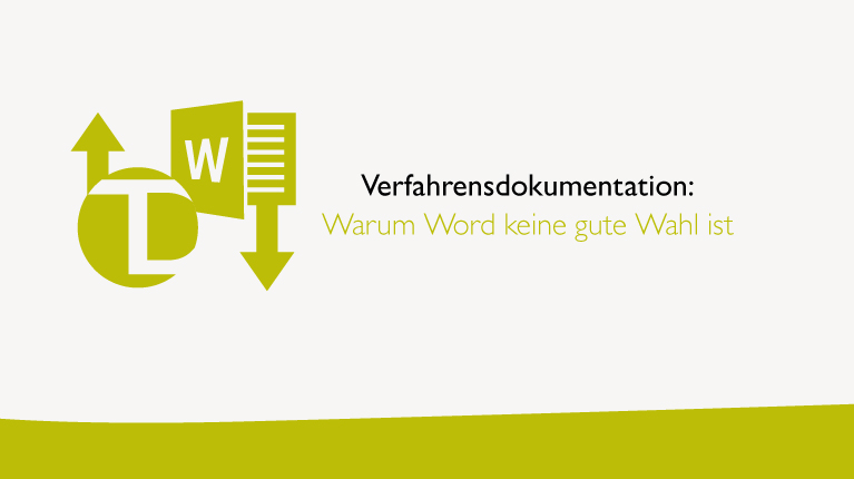 Verfahrensdokumentation mit Word