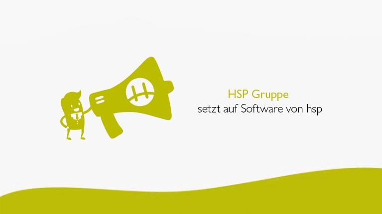 HSP Gruppe setzt auf Software von hsp