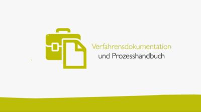 Verfahrensdokumentation ein Prozesshandbuch