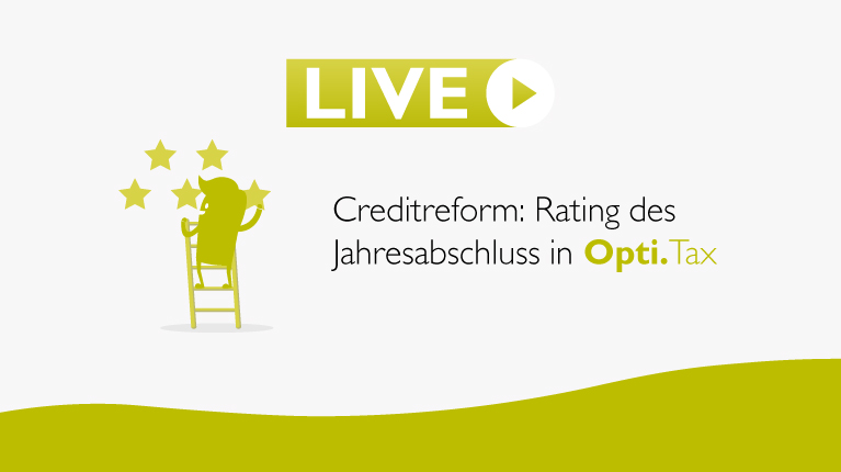Creditreform, Opti.Tax, Jahresabschluss